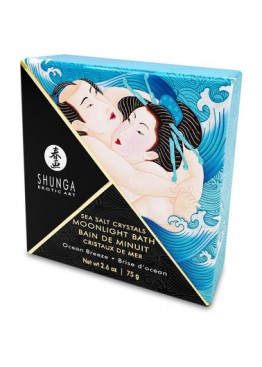 Соль для ванны Shunga Moonlight Bath - Ocean Breeze (75 гр)