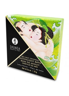 Соль для ванны Shunga Moonlight Bath - Lotus Flower (75 гр)