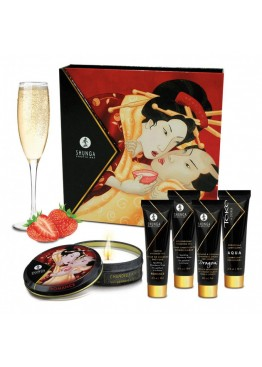 Подарочный набор Shunga GEISHAS SECRETS - Sparkling Strawberry Wine