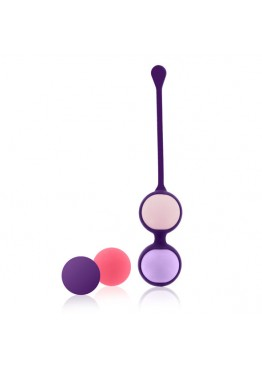 RS - ESSENTIALS - PUSSY PLAYBALLS CORAL ROSE