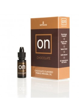 Возбуждающе масло Sensuva - ON Arousal Oil for Her Chocolate (5 мл)