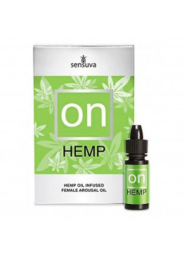 Возбуждающее масло Sensuva - ON for Her Hemp Infused Arousal Oil (5 мл)
