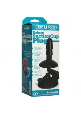 Крепление для душа Doc Johnson Vac-U-Lock - Deluxe Suction Cup Plug