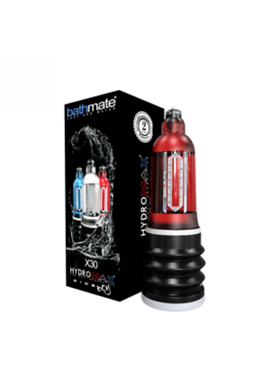 Гидропомпа Bathmate Hydromax X30 Wide Boy Brilliant Red